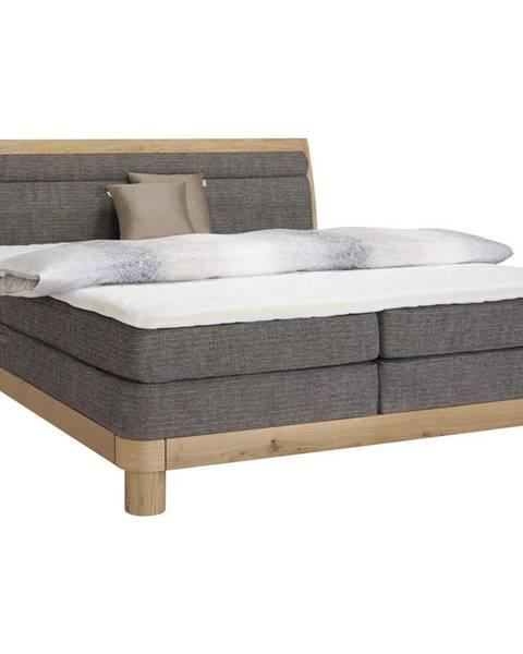 Hnedá posteľ Valnatura