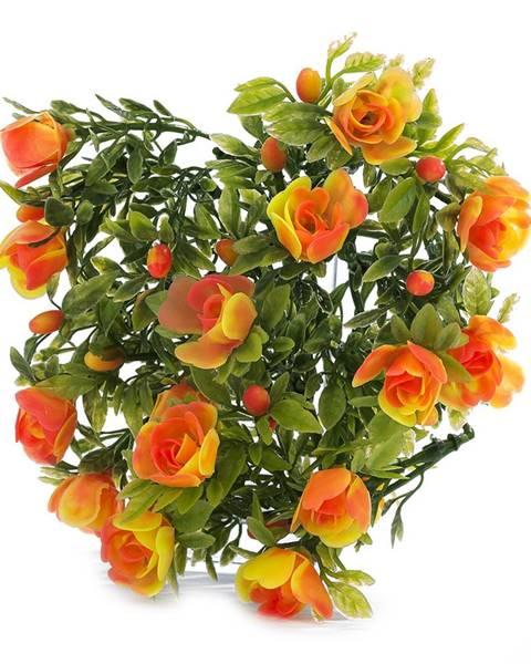Oranžová váza Albani