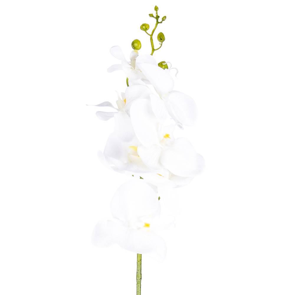 Vigan Umelá Orchidea čisto biela, 86 cm