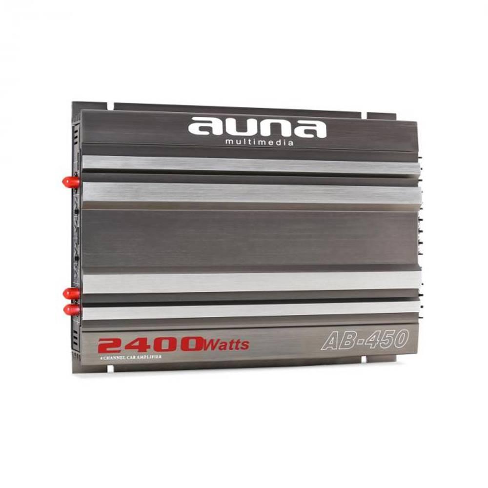 Auna Auna AB-450 4-kanálový zosilňovač, automobilový, 2400 W