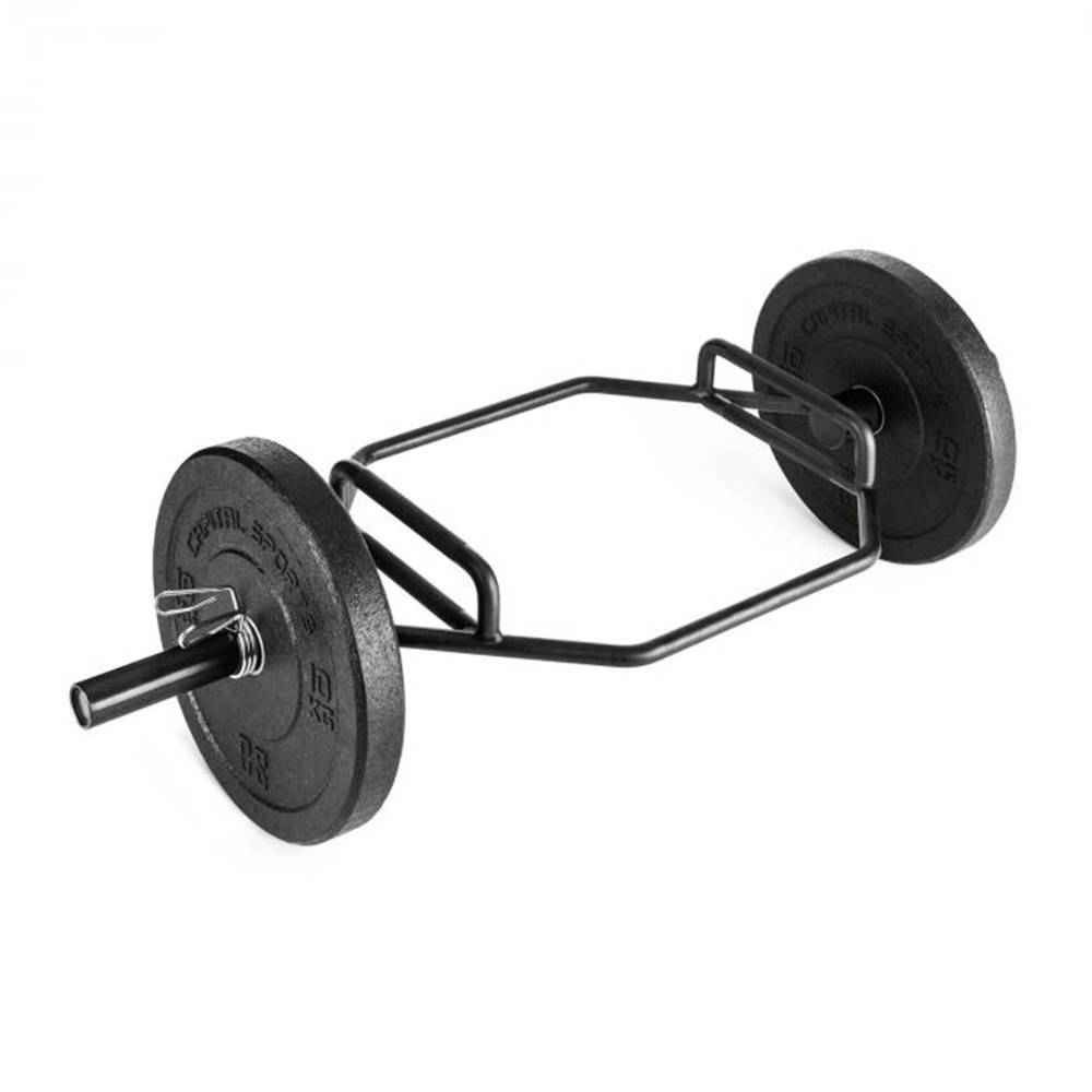Capital Sports Capital Sports Beastbar Hex-Bar činkový hriadeľ deadlift triceps max. 300 kg