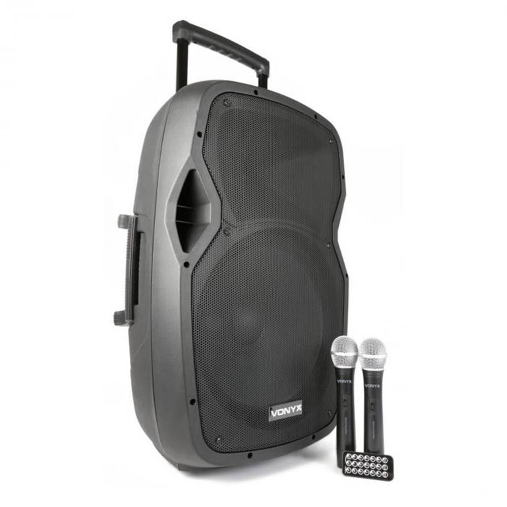Vonyx Vonyx AP1500PAmobilné PA zariadenie 38 cm (15'') bluetoothUSB SD MP3 VHFnabíjacia batéria