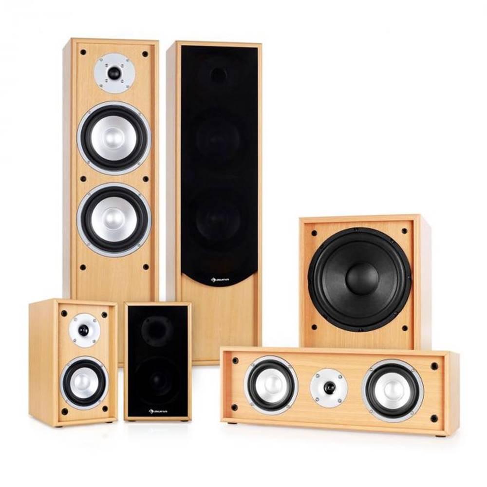 Auna Auna 5.1 zvukový systém k domácemu kinu Linie-300-BH, buk