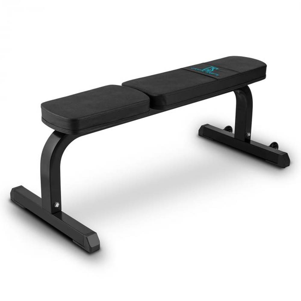 Capital Sports Capital Sports Flat B, čierna, 250 kg, rovná lavička, lavička na činky, oceľ