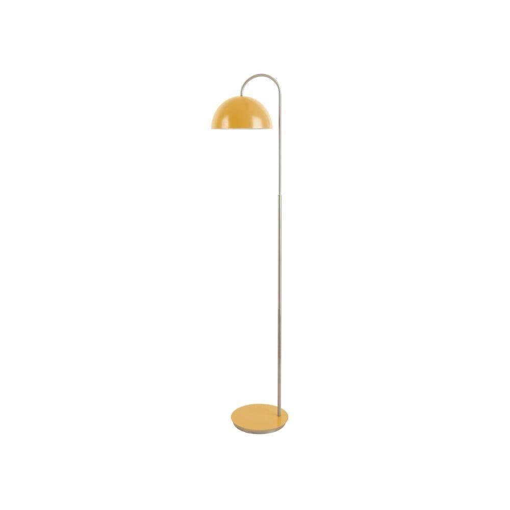 Leitmotiv Stojacia lampa v žltej farbe Leitmotiv Decova