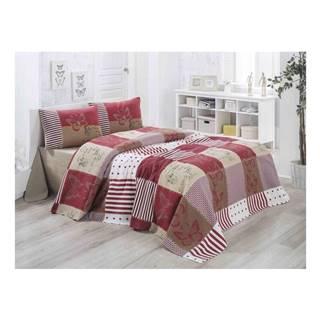 Ľahká prešívaná bavlnená prikrývka cez posteľ Carro Lesso, 140×200 cm