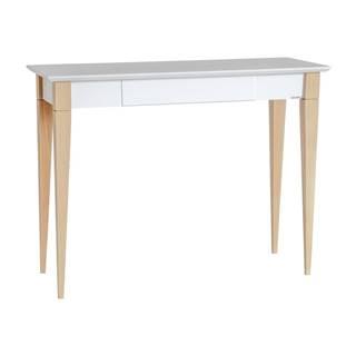 Biely pracovný stôl Ragaba Mimo, šírka 105 cm