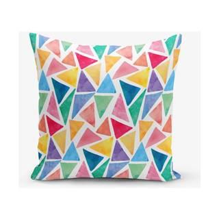 Obliečka na vankúš s prímesou bavlny Minimalist Cushion Covers Geom, 45×45 cm