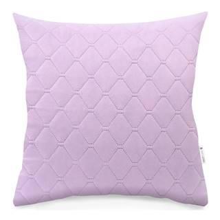 Súprava 2 fialovoružových obliečok na vankúš z mikrovlákna DecoKing Axel, 40 x 40 cm