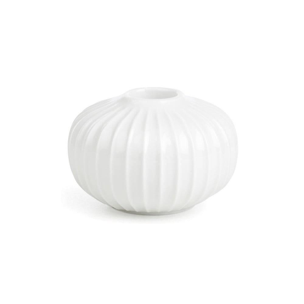 Kähler Design Biely porcelánový svietnik Kähler Design Hammershoi, ⌀ 8 cm