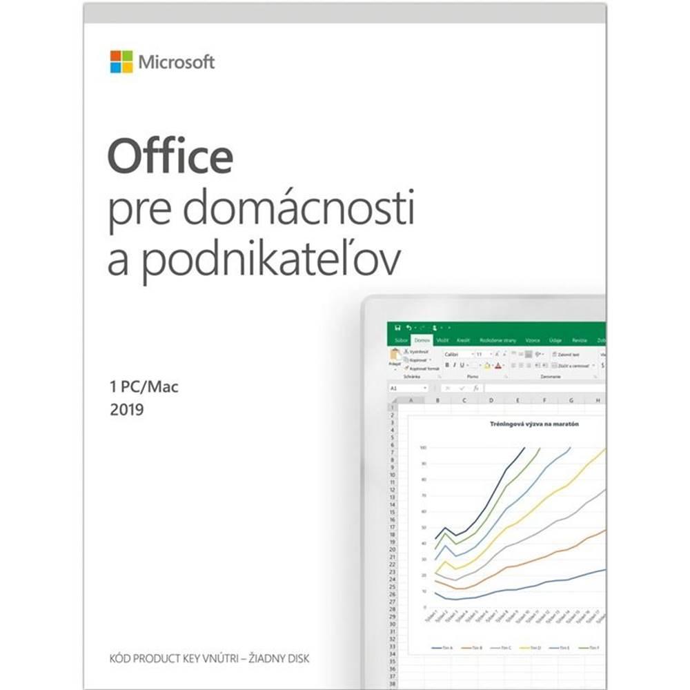 Microsoft Software  Microsoft Office 2019 pre domácnosti a podnikatelov SK