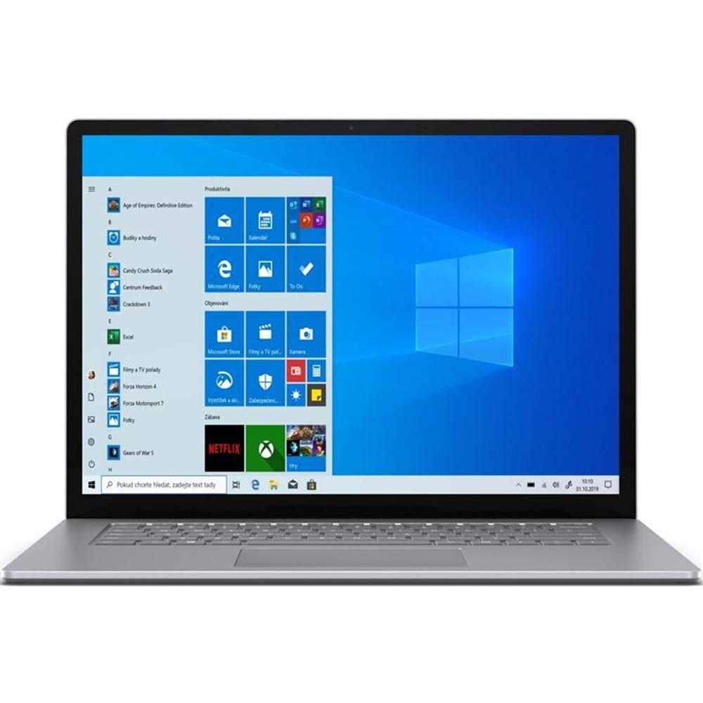 "Microsoft Notebook Microsoft Surface Laptop 3 15"" strieborný"