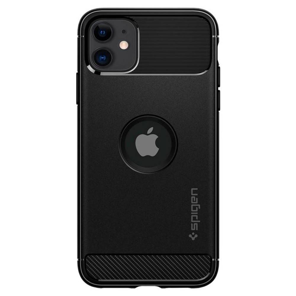 Spigen Kryt na mobil Spigen Rugged Armor na Apple iPhone 11 čierny