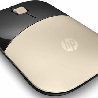 Myš  HP Z3700 zlatá