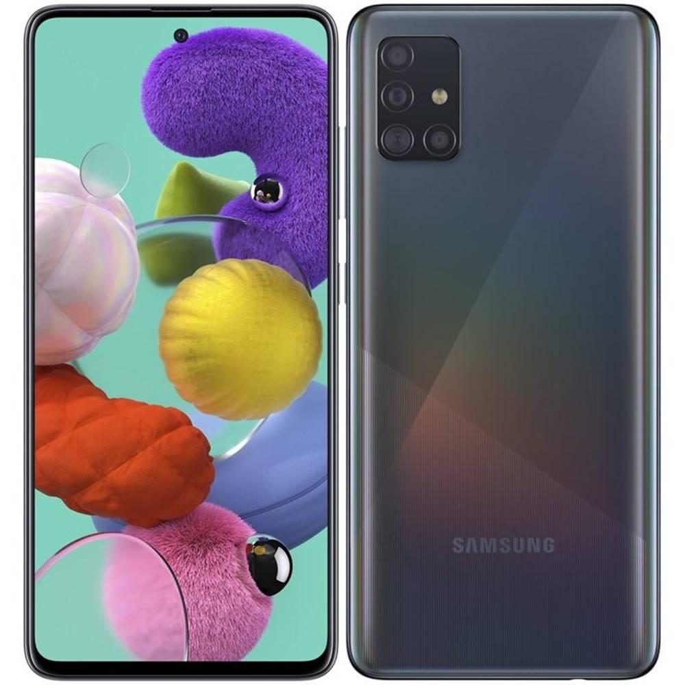 Samsung Mobilný telefón Samsung Galaxy A51 čierny