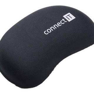 Podložka  Connect IT zápěstní před myš čierna