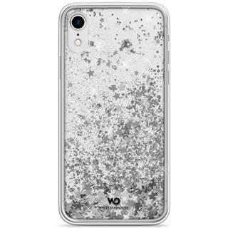 Kryt na mobil White Diamonds Sparkle na Apple iPhone XR strieborný