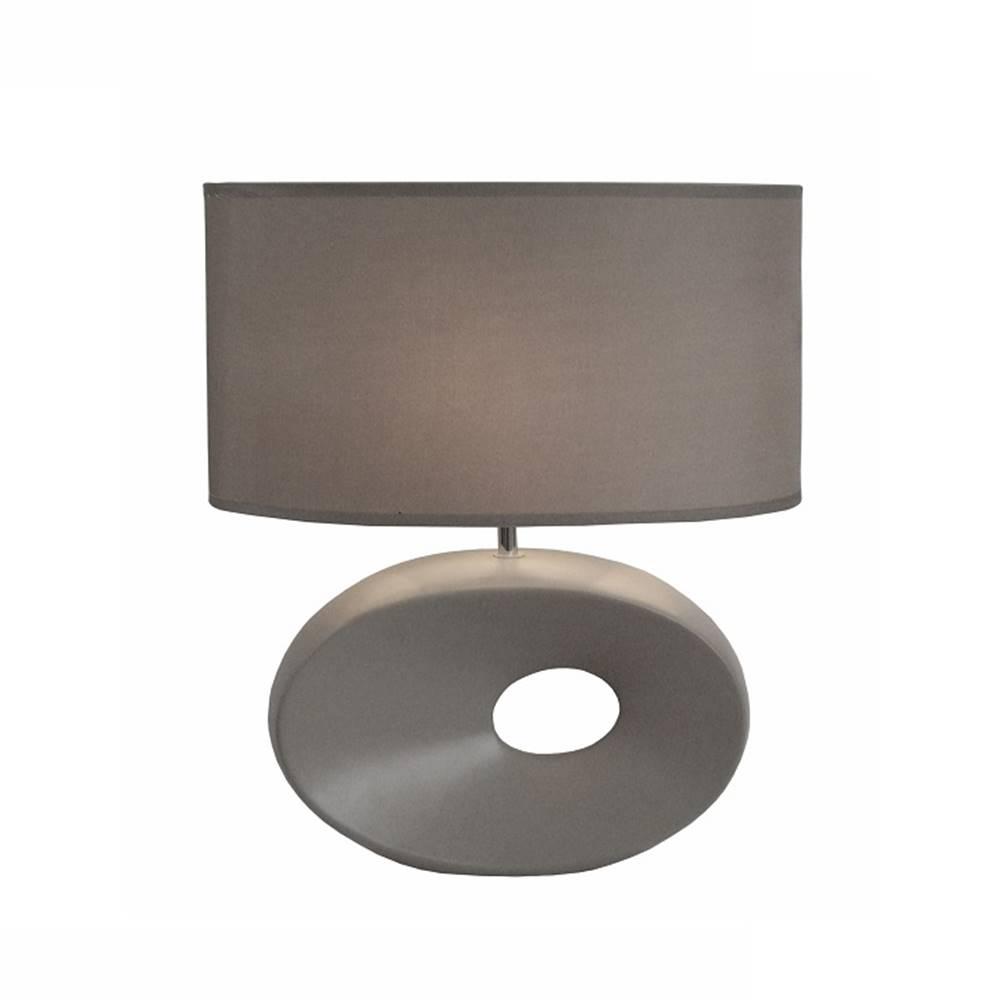 Tempo Kondela Keramická stolná lampa sivá QENNY TYP 11 AT09115