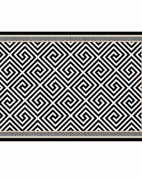 Čierny koberec Tempo Kondela