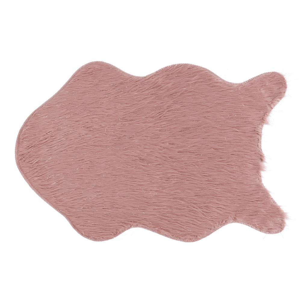Tempo Kondela Umelá kožušina ružová/zlatoružová 60x90 FOX TYP 3