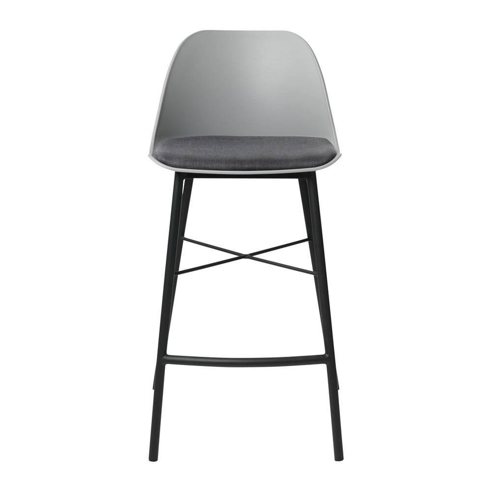 Unique Furniture Sivá barová stolička Unique Furniture Whistler