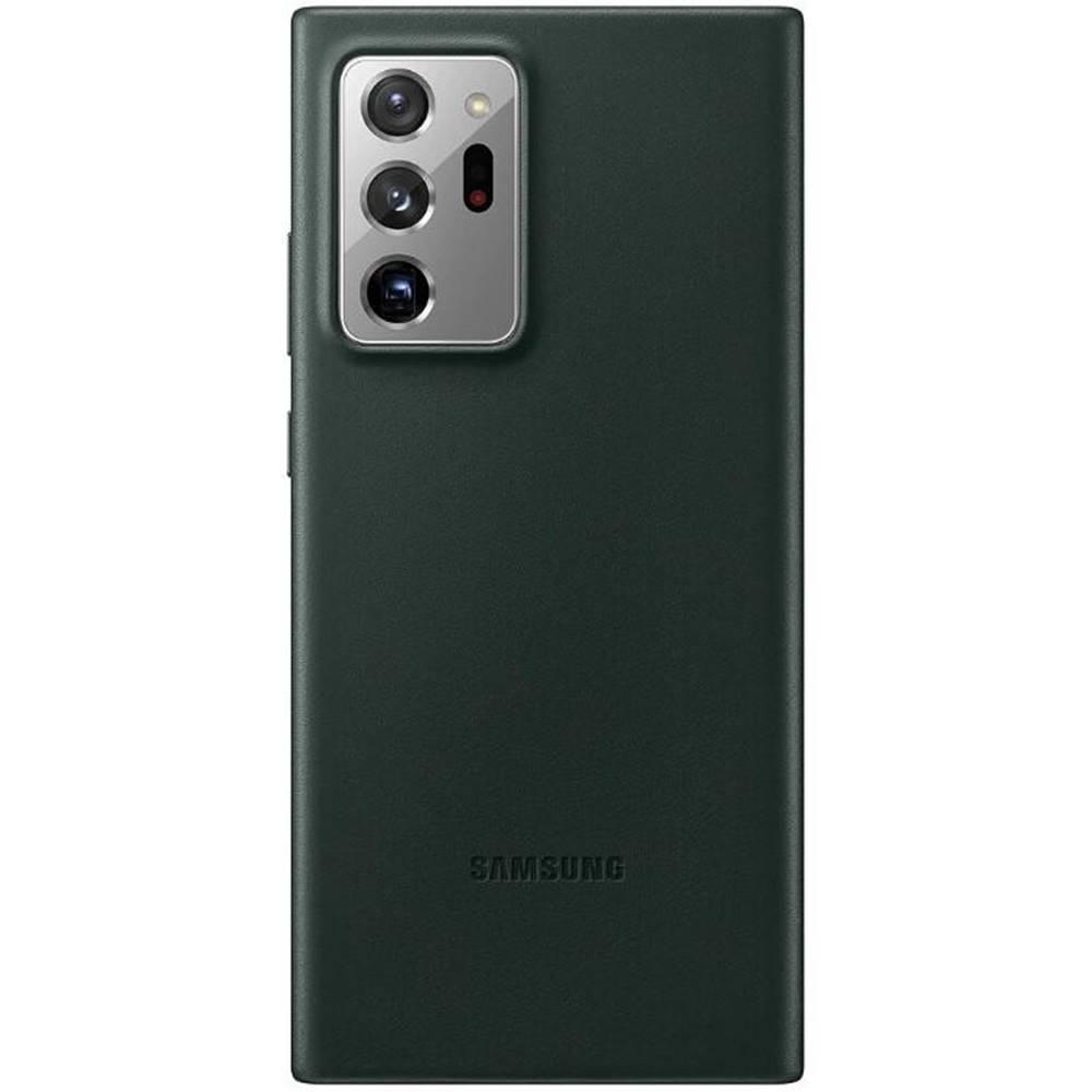 Samsung Kryt na mobil Samsung Leather Cover na Galaxy Note20 Ultra zelený