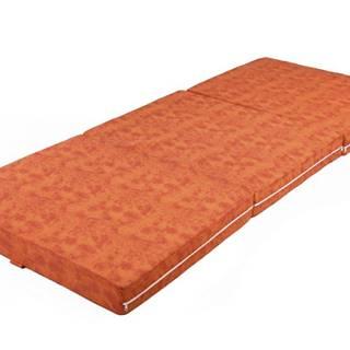 Skladací matrac MARMOR oranžová