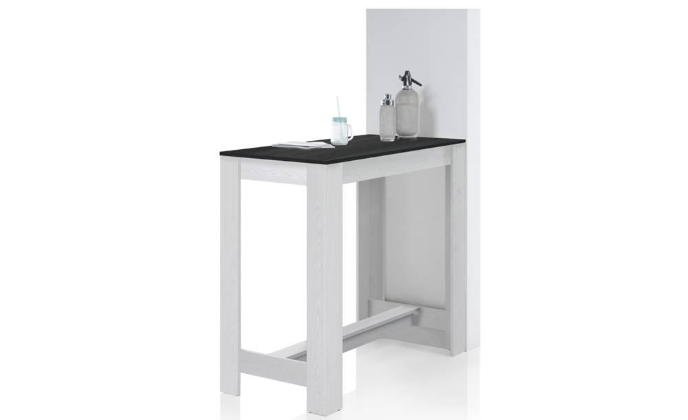 Sconto Barový stôl HUGO touchwood/sibiu smrekovec